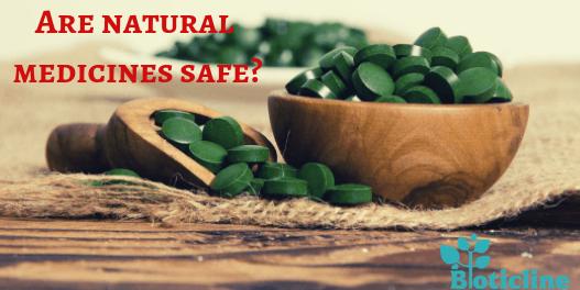Are natural medicines safe?
