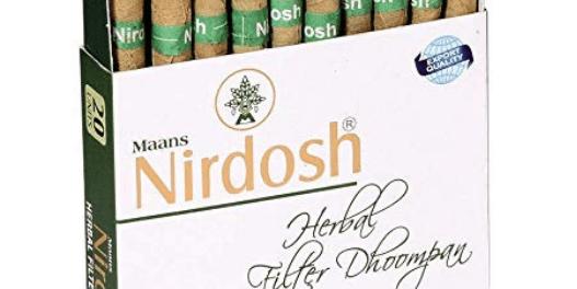 Nirdosh Herbal Cigarettes