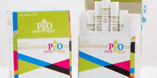 PgO Herbal Cigarettes