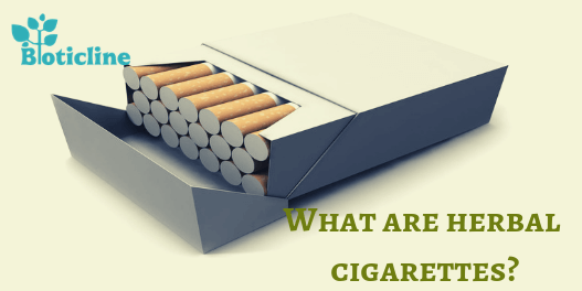 What are herbal cigarettes?