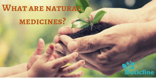 What are natural medicines