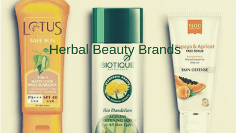 Best Herbal Beauty Brands In India