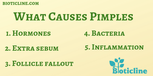 causes pimples and acne