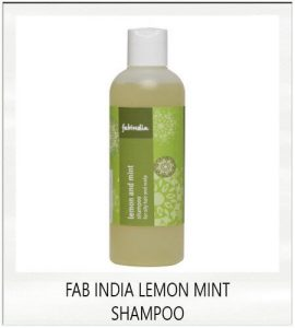 Fab India Lemon Mint Shampoo